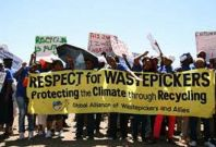 Waste pickers of South Africa call for recognition