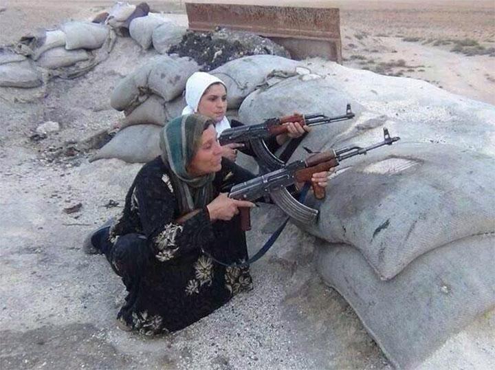 kurdish family Isis