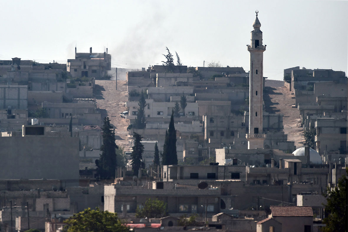 Kobani before