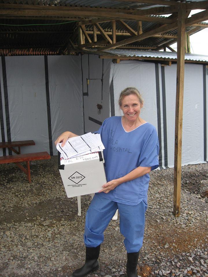 Sue Ellen Kovack Australian Nurse Ebola