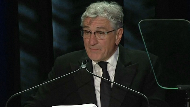 Robert De Niro and Carlos Slim are Celebrated by the Friars Club