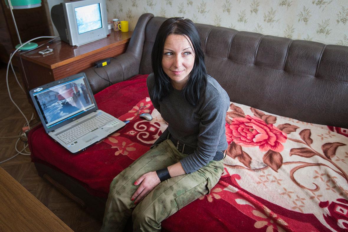ukraine women fighters