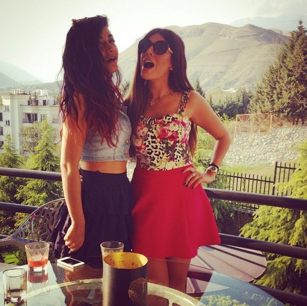 Red dress instagram rich