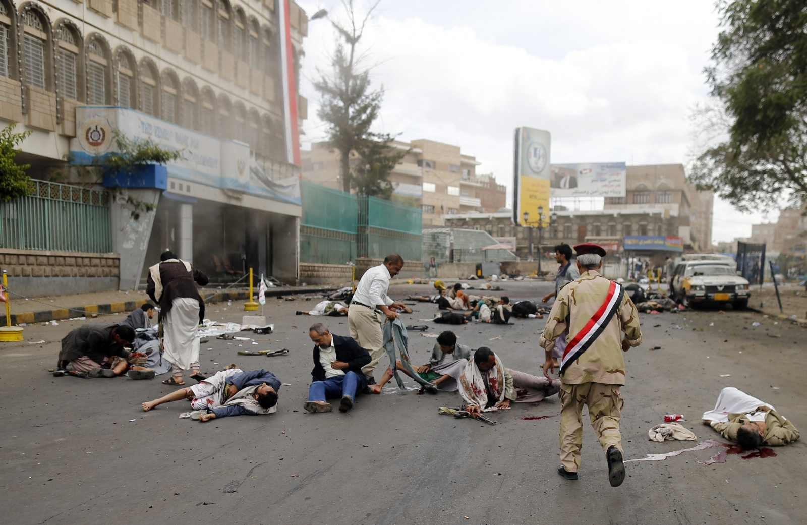 At Least 40 killed in Suicide Bombing in Yemeni Capital