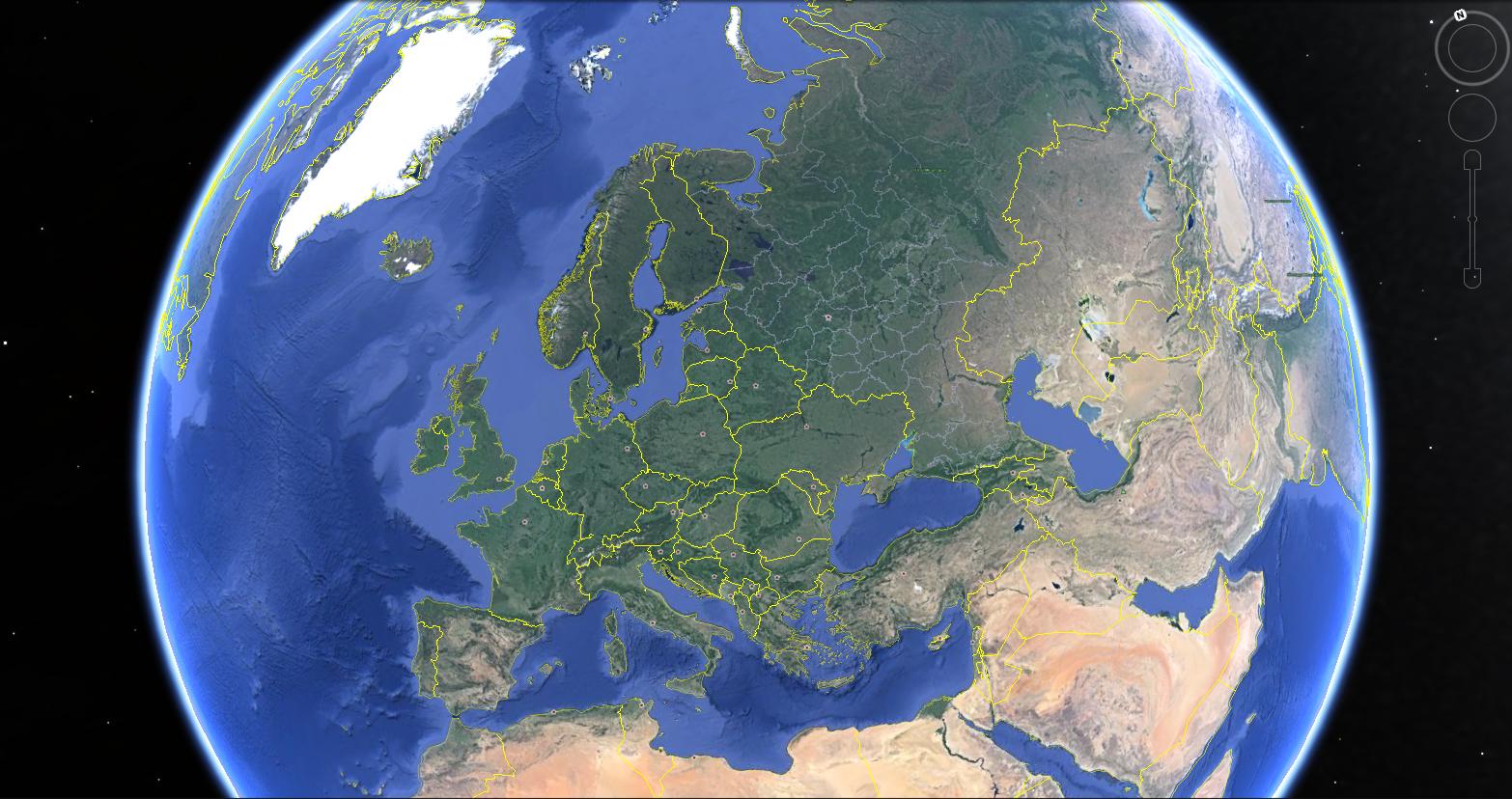 Google Earth View