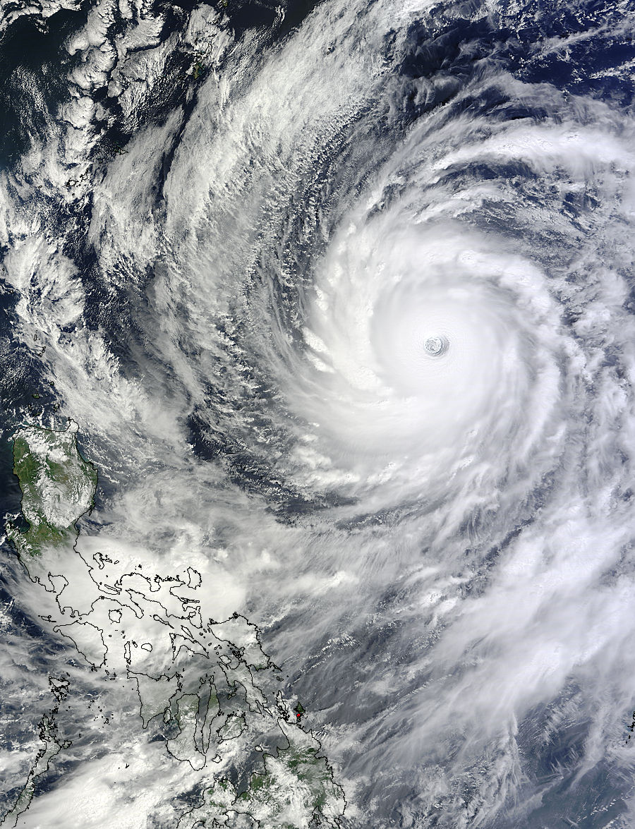 Super Typhoon Vongfong: Most Powerful Cyclone Since Haiyan ...