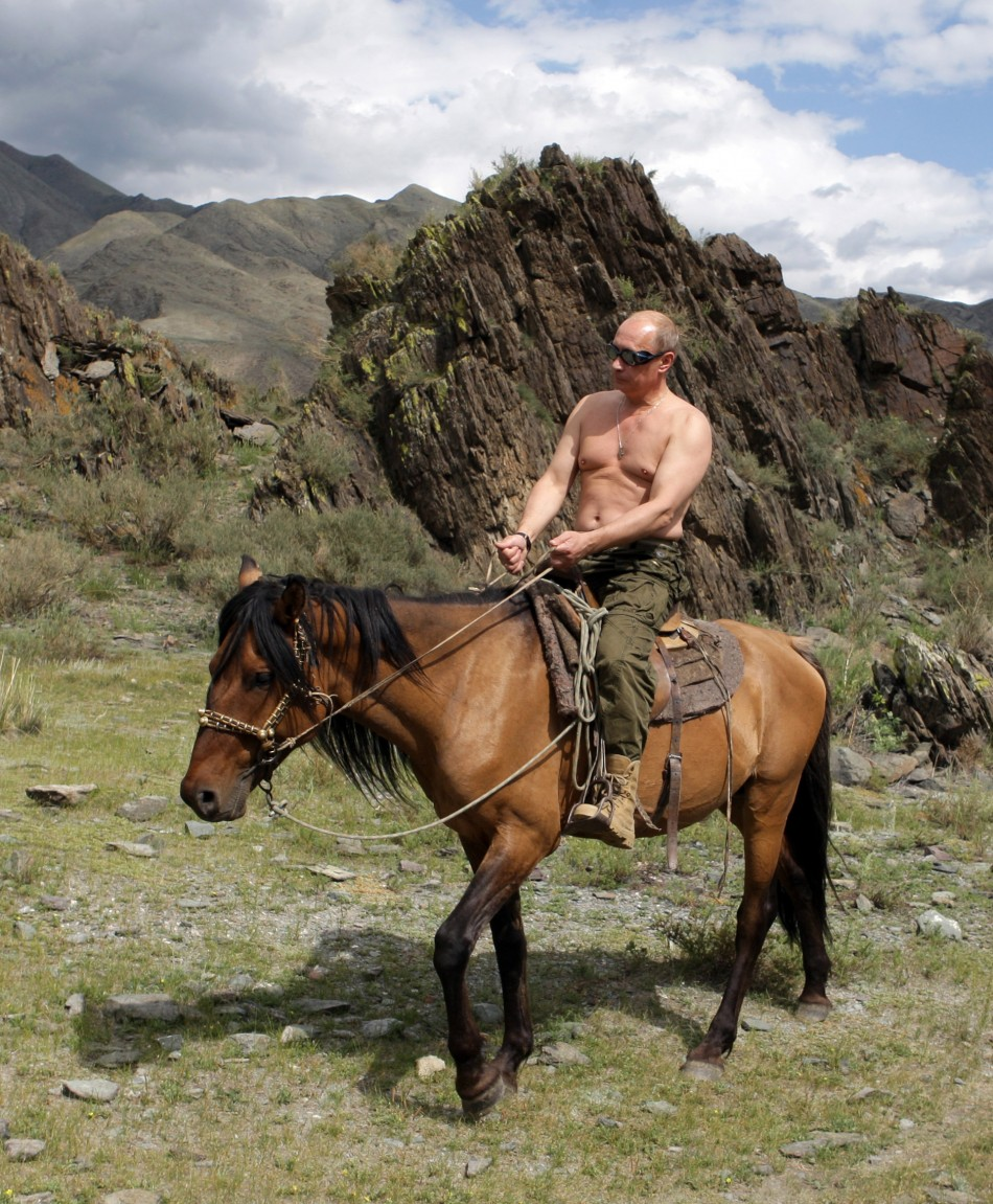Vladimir Putin's Manliest Moments