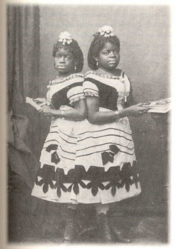 Millie and Christine McCoy in 1873