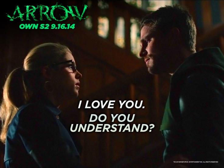 Arrow Oliver Felicity