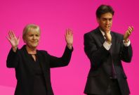 Johann Lamont and Ed Miliband