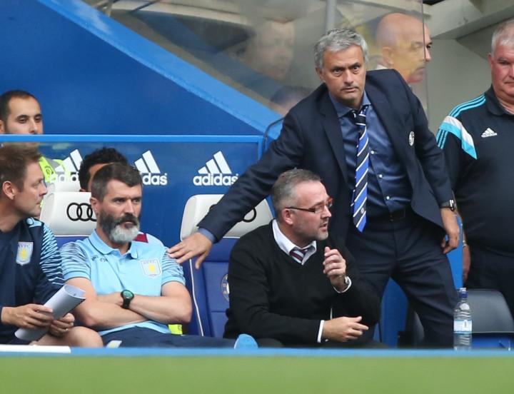 Jose Mourinho and Roy Keane