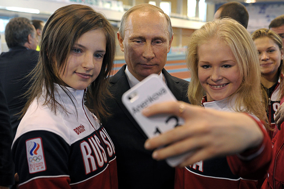 Putin selfie