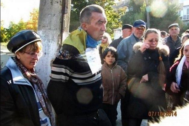 Ukraine intimidation