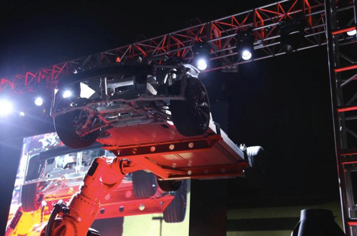 tesla model s p85d elon musk unveils faster smarter