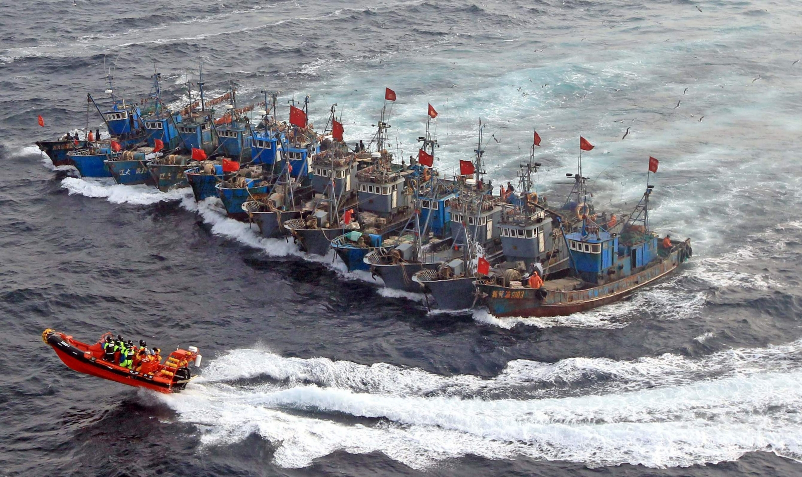 Yellow Sea Chinese Fish Boat Capital Killed in Confrontation with South Korean Coast Guard
