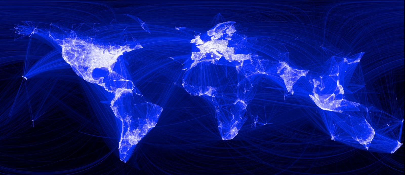 Facebook Connection Map 2010
