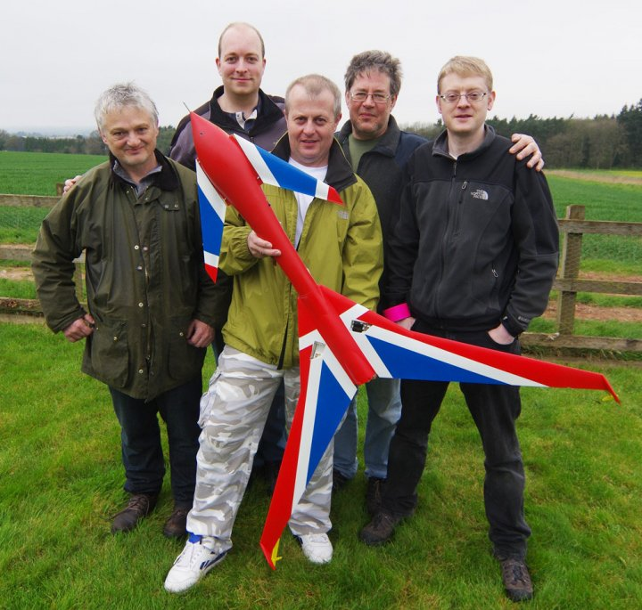 Some of the LOHAN volunteers who have helped to build the first ever rocket-powered, 3D-printed spaceplane
