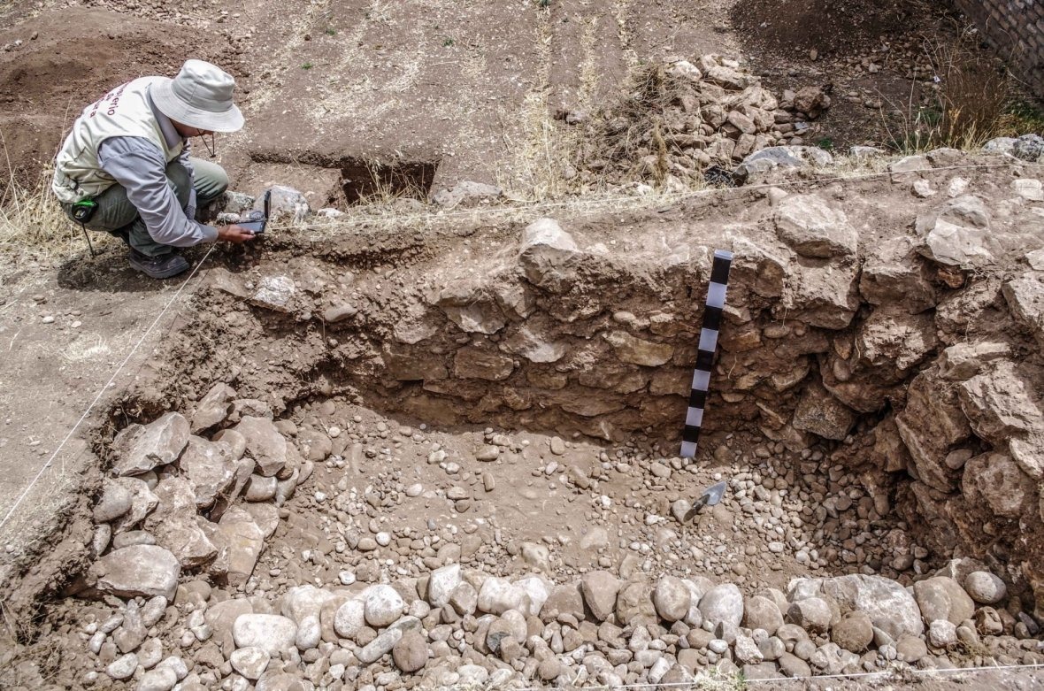 Peru state archaeologists say the ushnu is an important finding as it relates to  Hatun Xauxa, one of the most important Inca ceremonial places from the Inca Empire