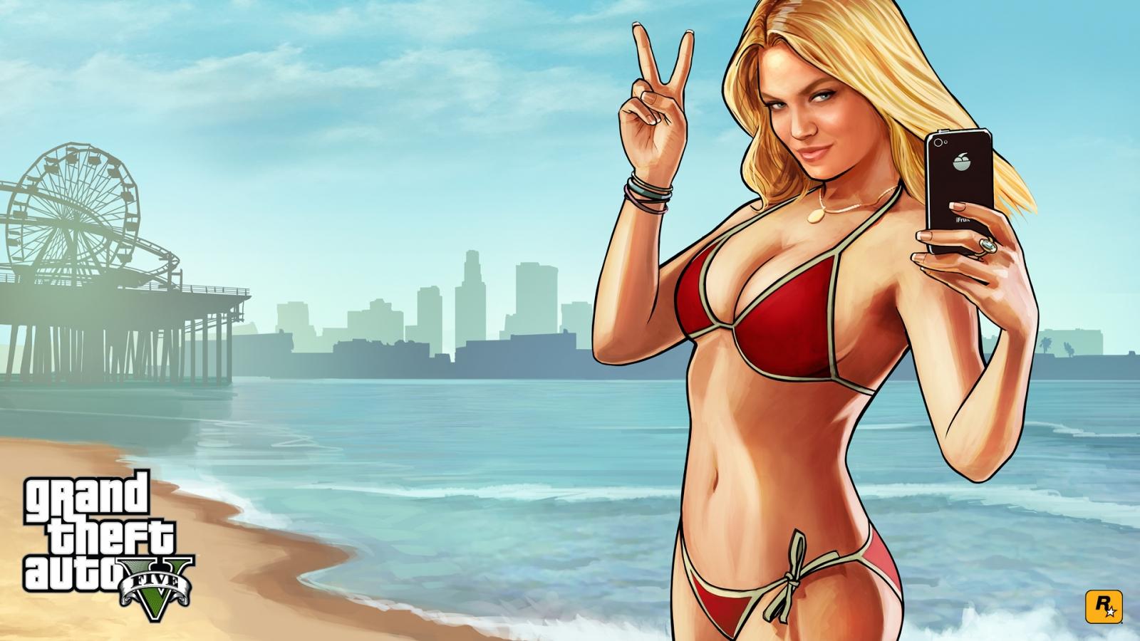 GTA 5 and Lindsay Lohan