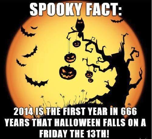 Halloween 2014 on Friday 13th