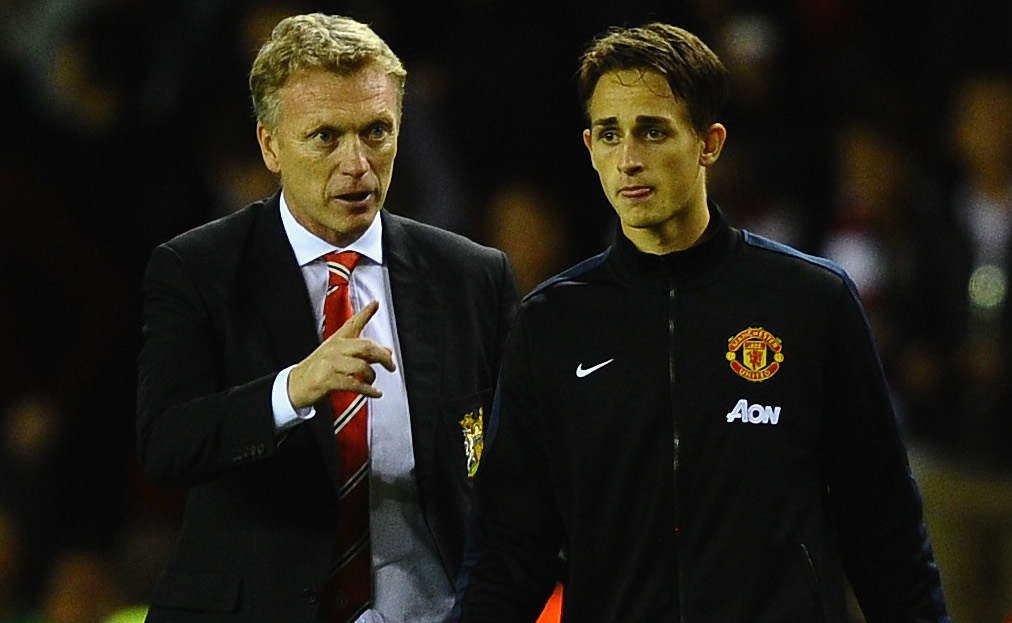 David Moyea and Adnan Januzaj