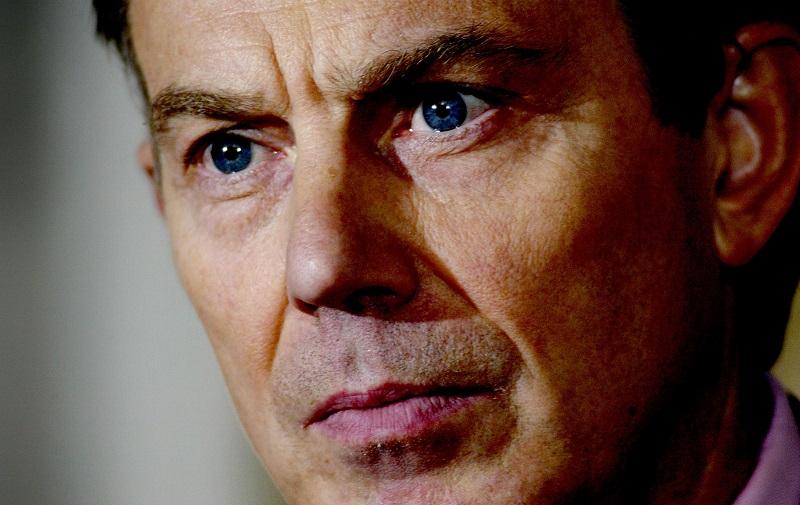 London mayor Boris Johnson has compared Tony Blair's skill in oration to that of Nazi dictator Adolph Hitler