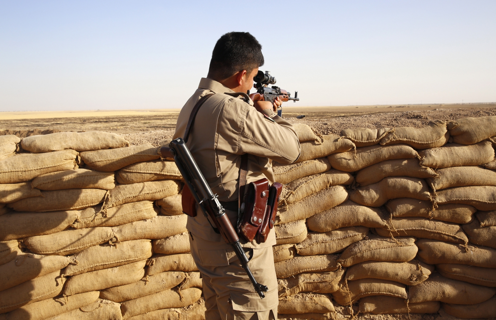 British troops in Iraq to train Kurdish forces