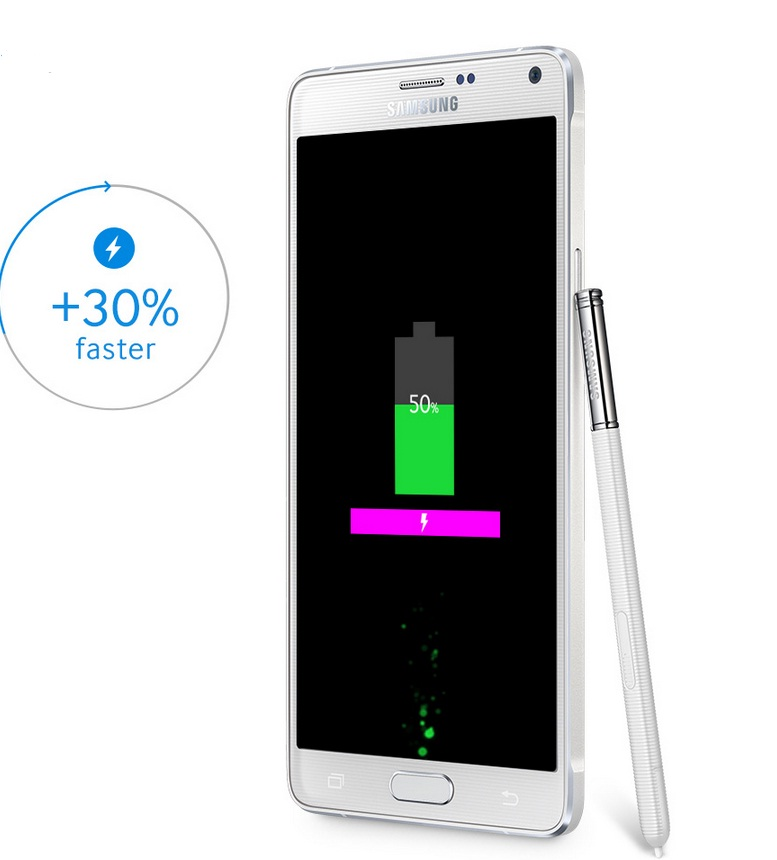 Samsung Galaxy Note 4 Battery Performance: New Note Trounces Rivals in Tests