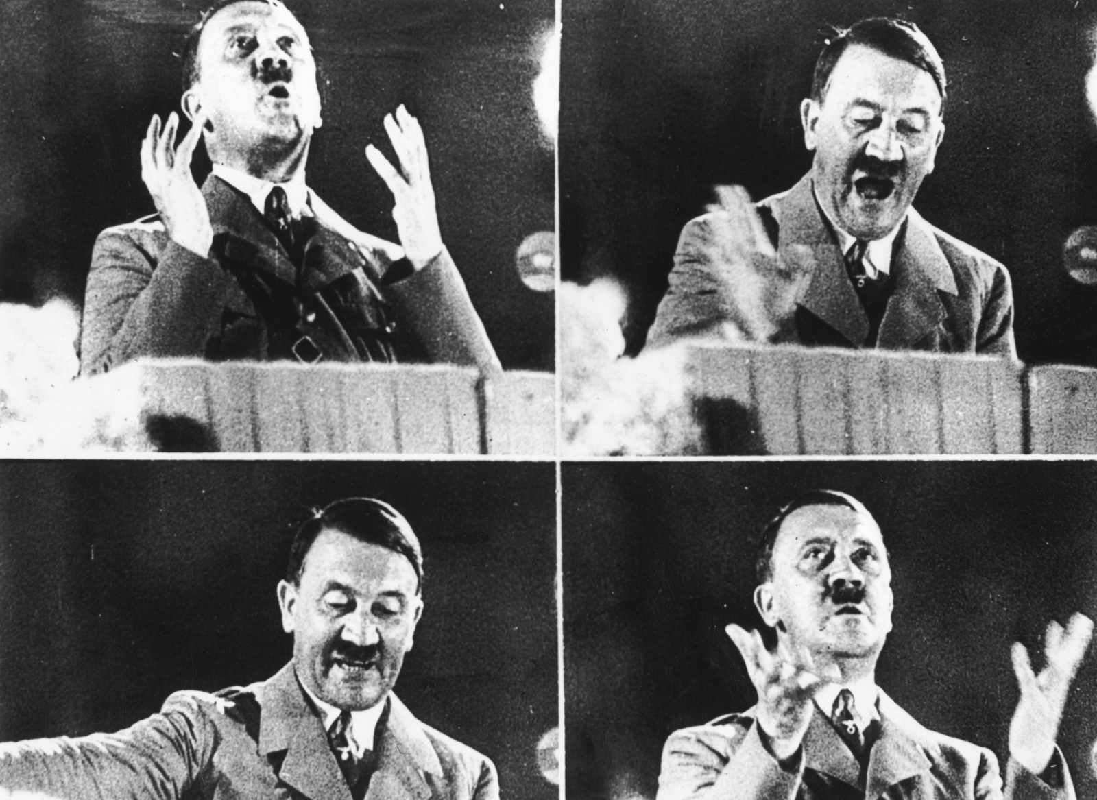 Adolf Hitler's manic mannerisms may be attributed to his crystal meth addiction