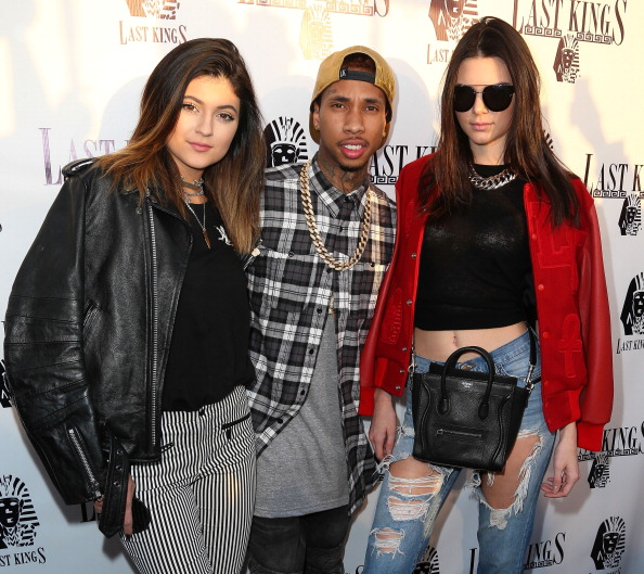 Television personality Kylie Jenner, rapper Tyga
