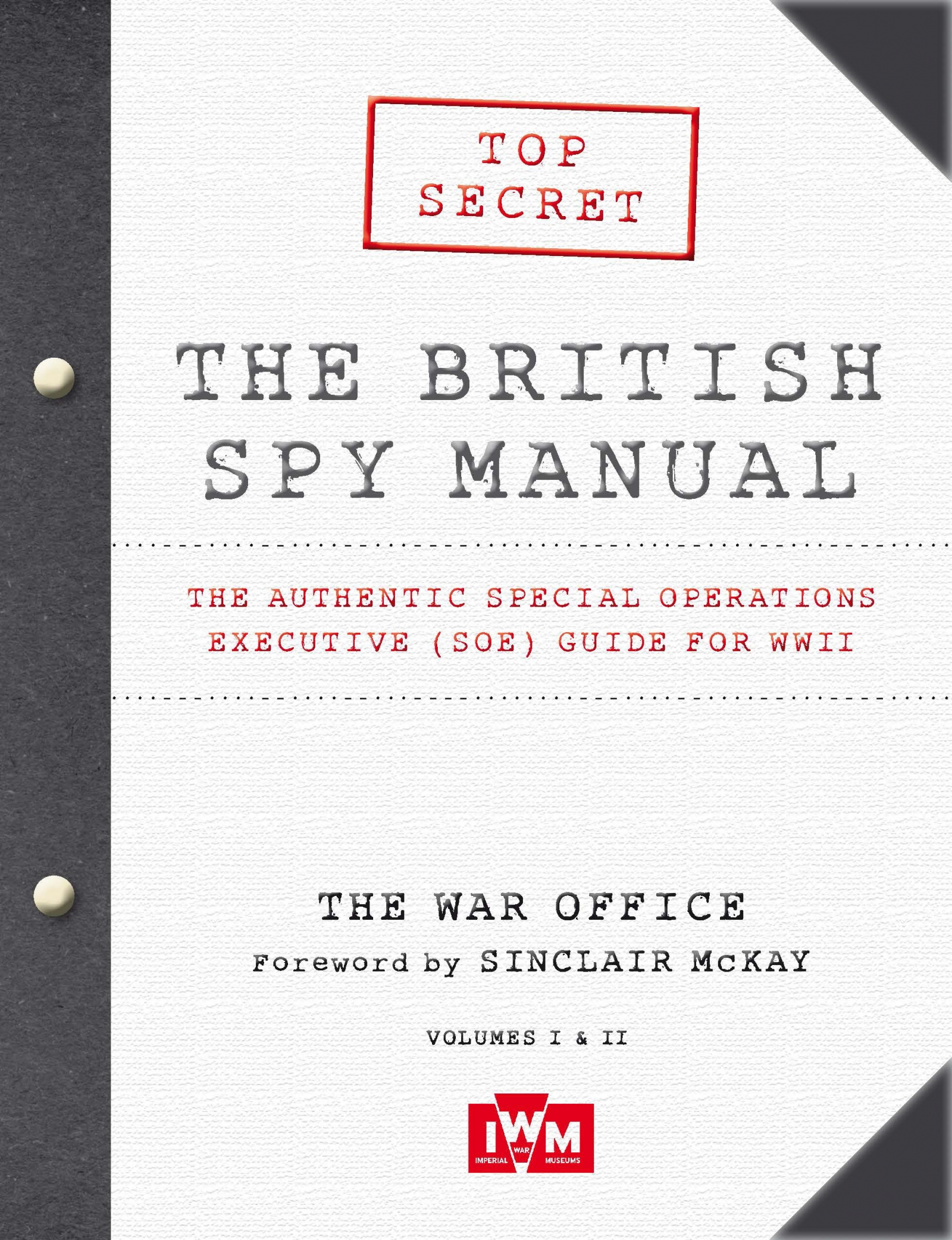 British Spy Manual book
