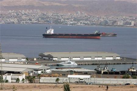 Port in Jordan