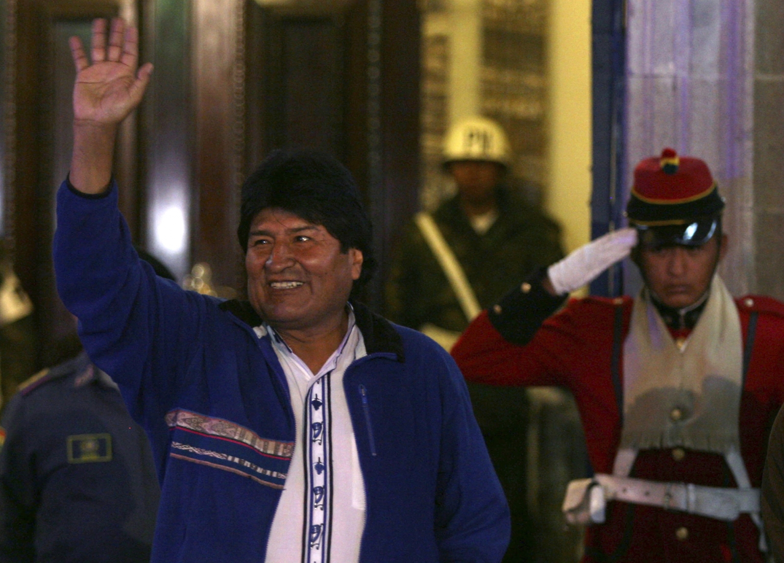 Evo Morales Claims Third Term Victory in Bolivia Election