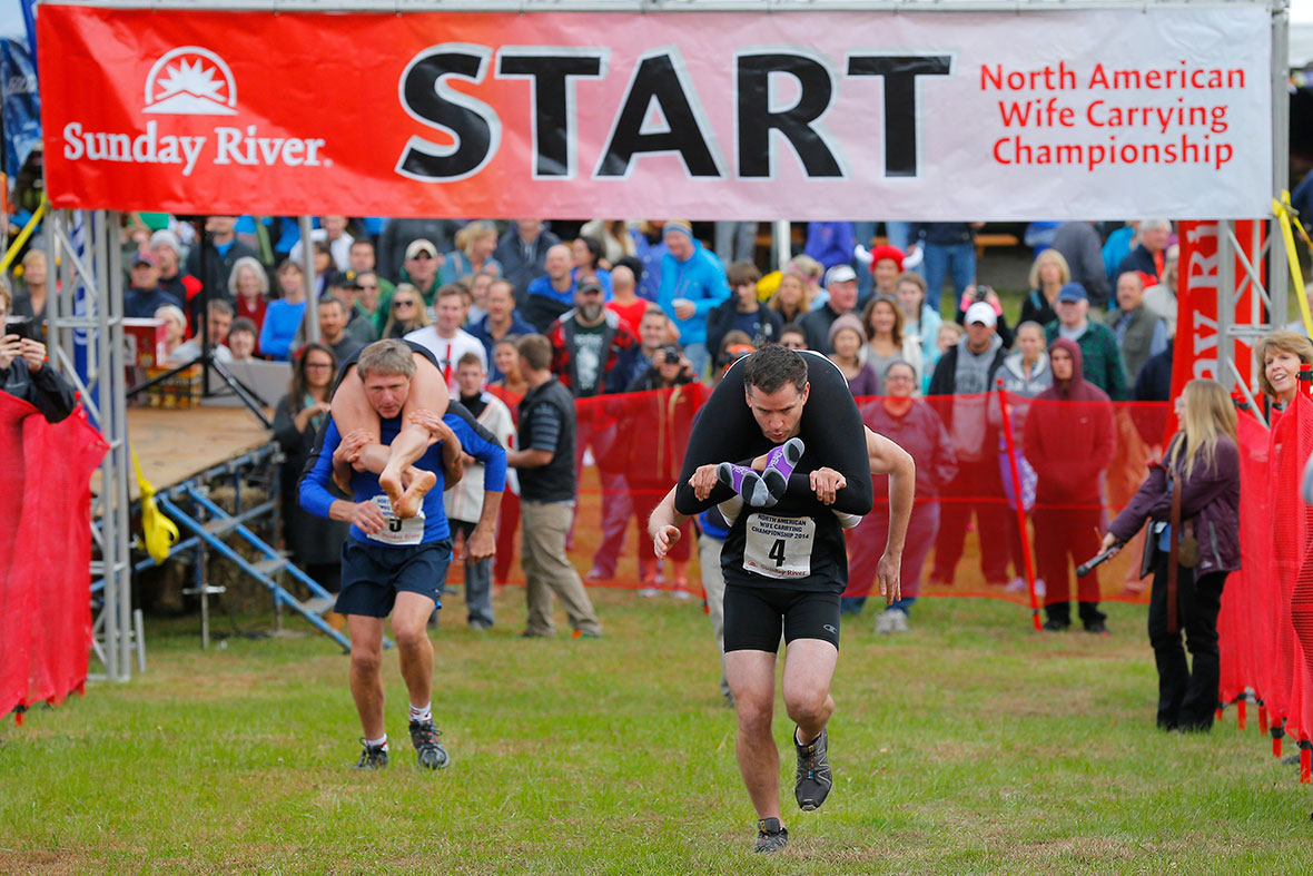 North American Wife Carrying Championships