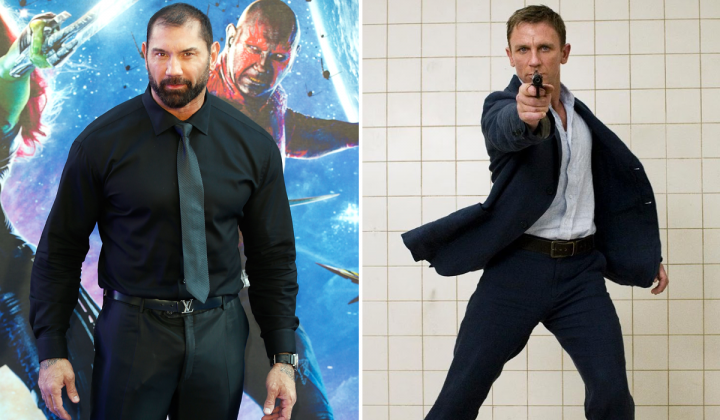 Bautista Daniel Craig Bond