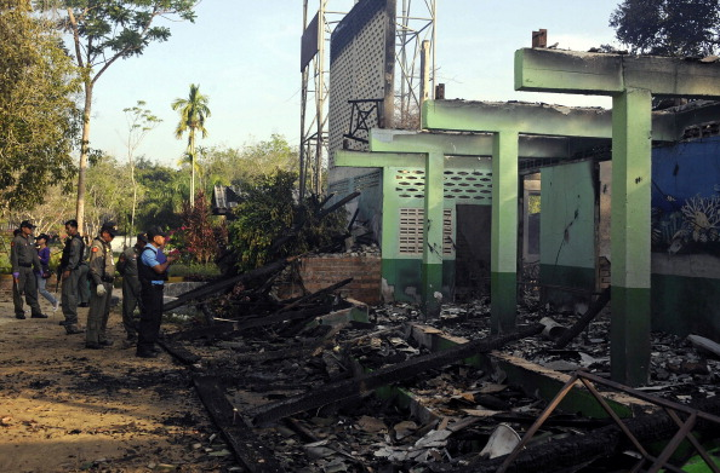 Thailand schools fire