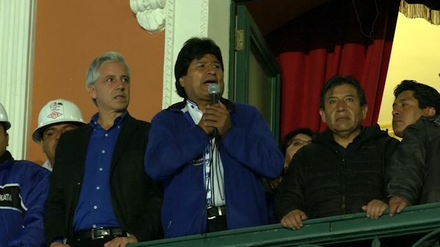 Bolivia's Evo Morales Claims Third Term Victory in Presidential Election