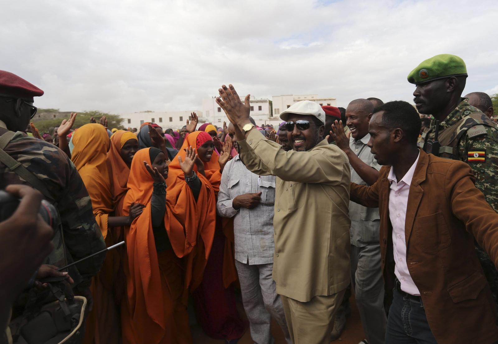 Somalia President Hassan Sheikh Mohamud