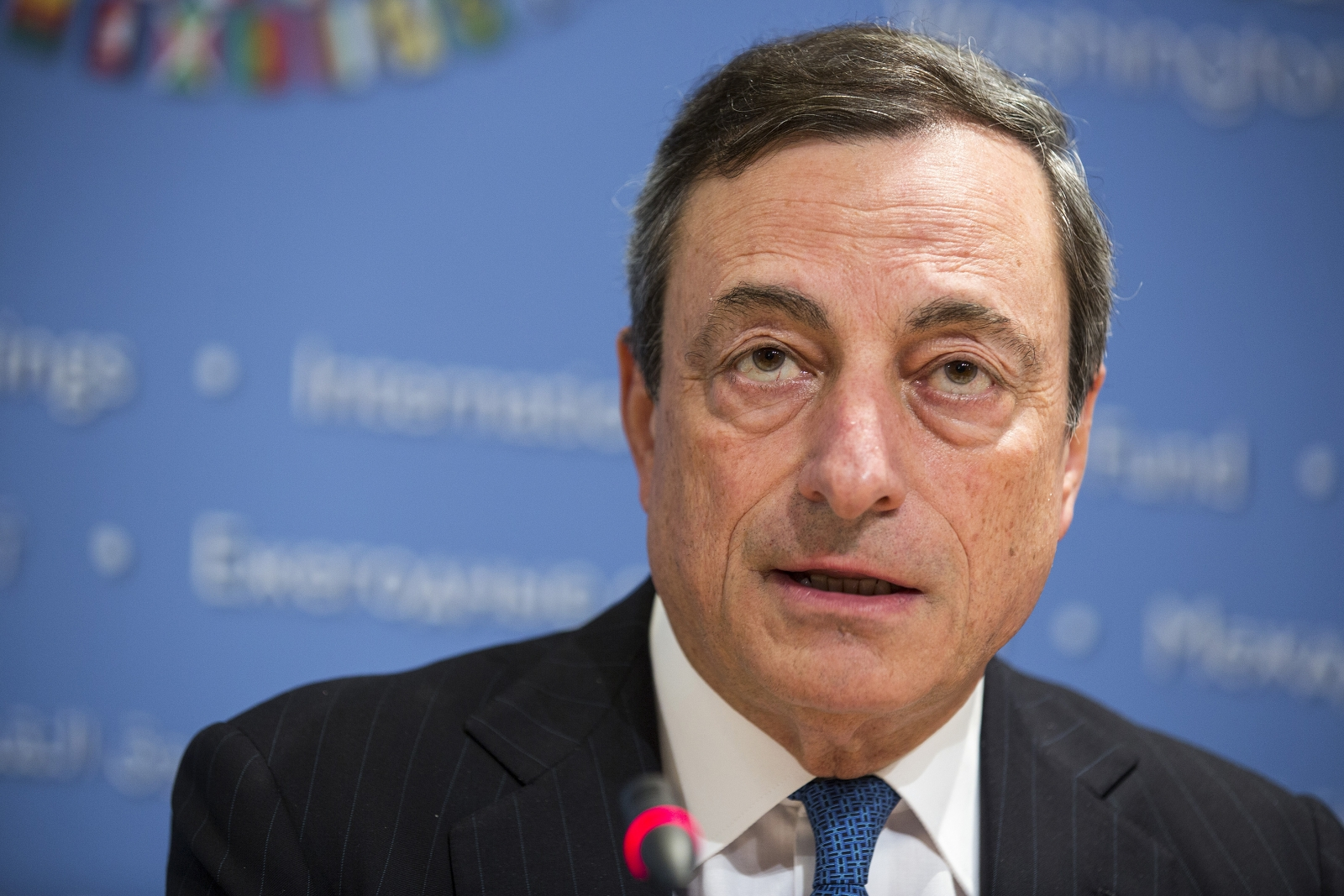Mario Draghi European Central Bank ECB