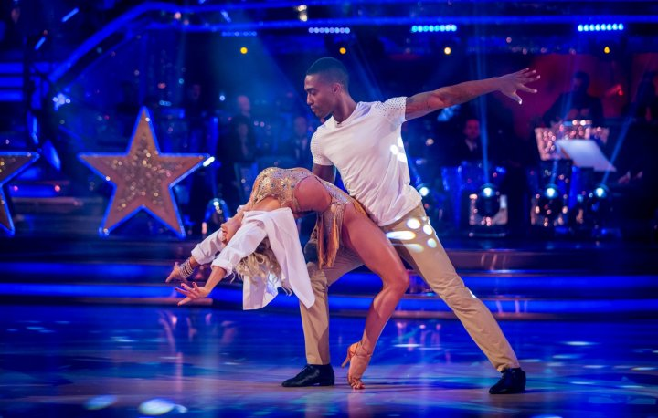 Strictly Come Dancing Simon and Kristina
