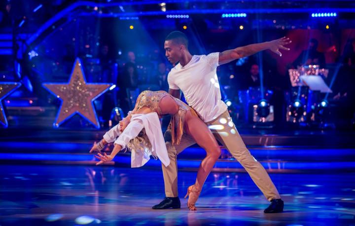 Strictly Come Dancing Simon and Kristina