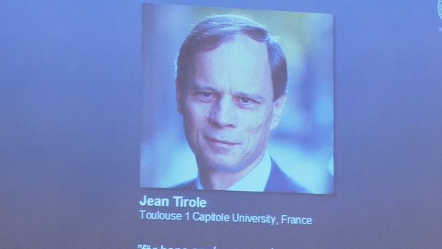 Regulatory Policy Work Wins Frenchman Tirole Economics Nobel