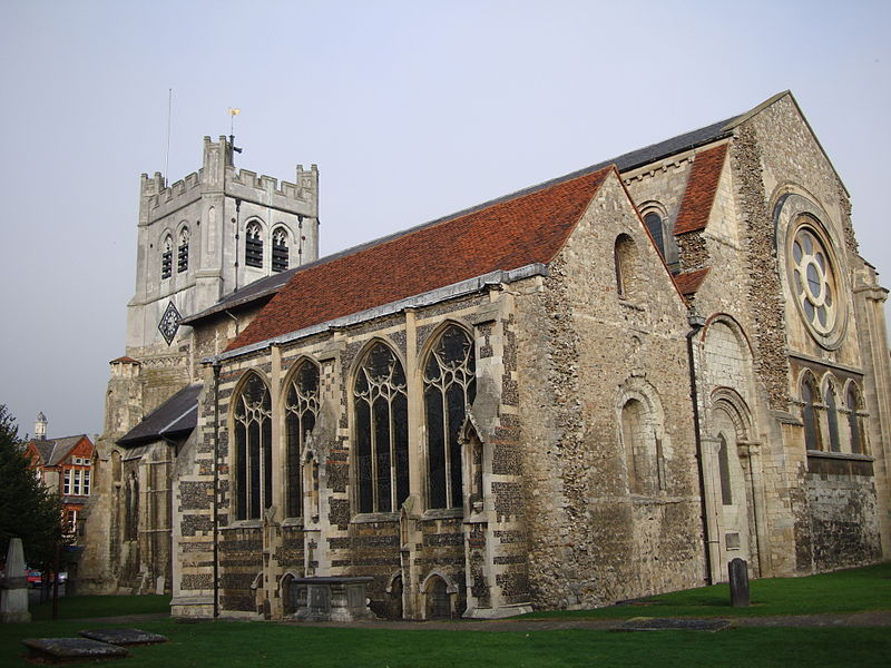 Waltham Abbey Church in Essex, 73.4 miles away from Battle Abbey