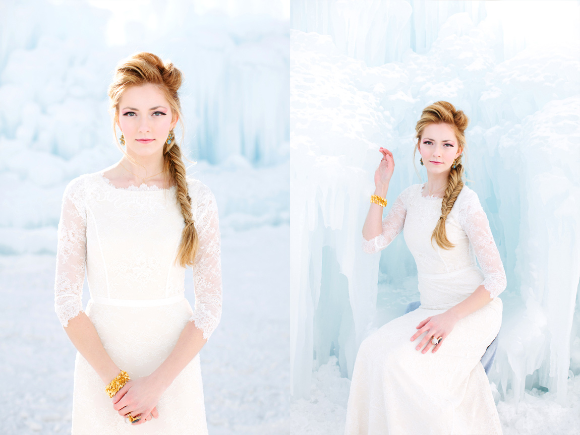 If Elsa were to get married, she might well wear white