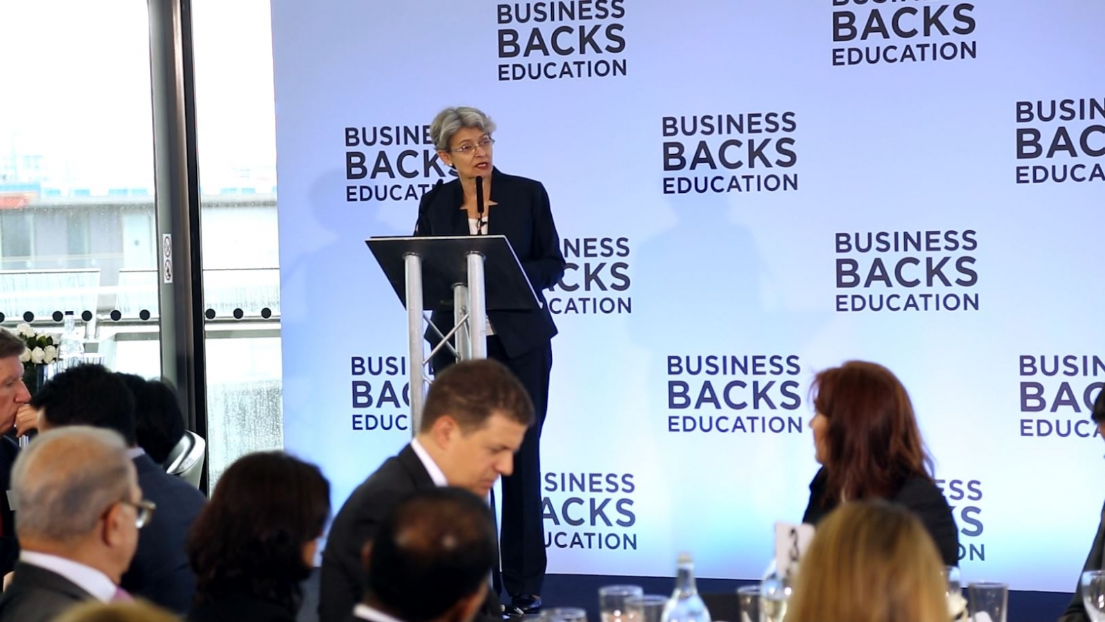 Unesco Chief Urges UK Businesses to Tackle 'Global Learning Crisis'