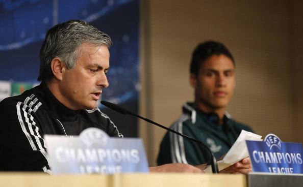 Jose Mourinho-Raphael Varane