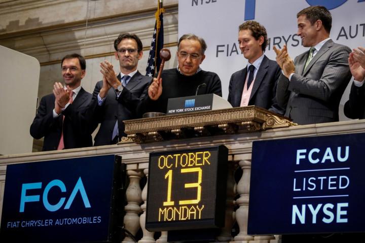 Fiat Chrysler NYSE Listing