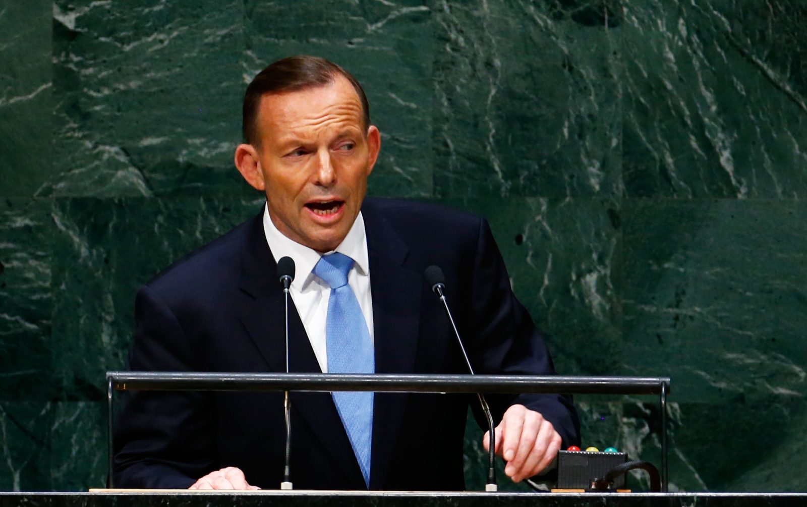 Australia Tony Abbott on Isis