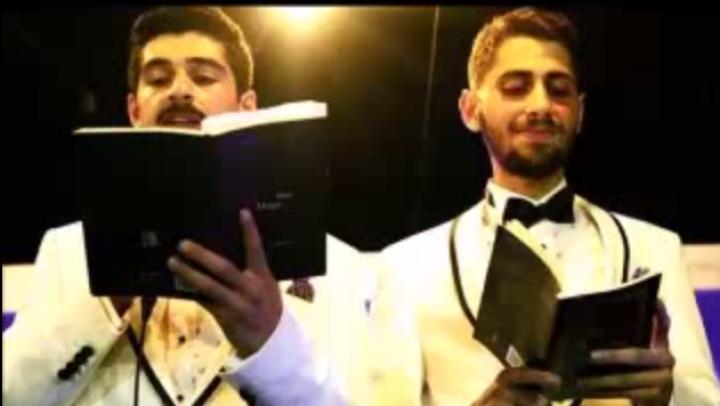Gay couple wedding Istanbul