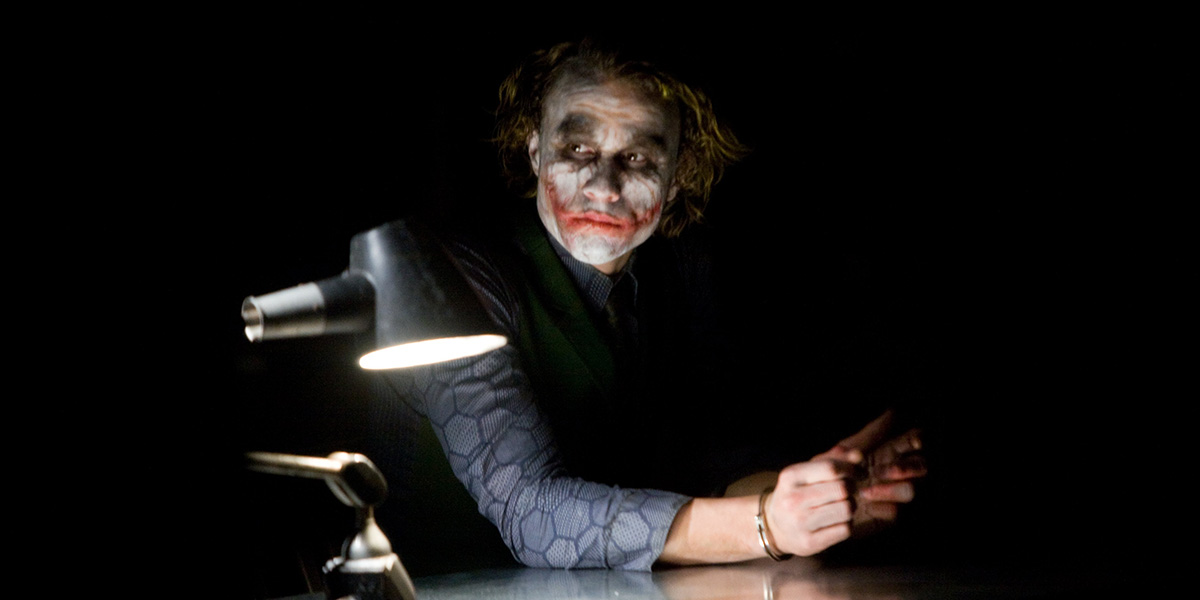 a character analysis of the joker in the dark knight by christopher nolan Under the direction of christopher nolan, the screenplay he and his brother jonathan nolan wrote, the dark knight, transcends the usual tropes of the superhero action film to deeply explore themes of law and order, justice, morality, and the forces of chaos the dark knight's batman (portrayed by christian bale).